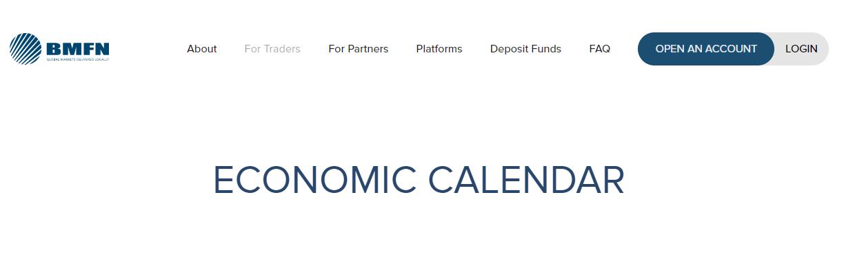 BMFN Economic Calendar