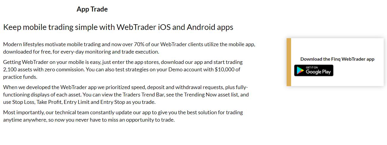 FinQ Mobile App