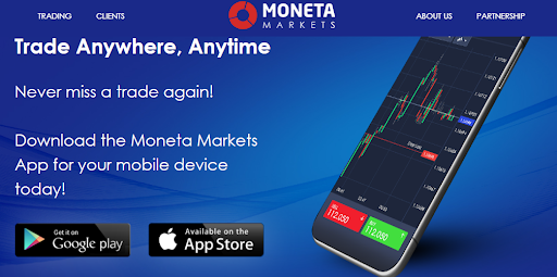 Moneta Markets Mobile App