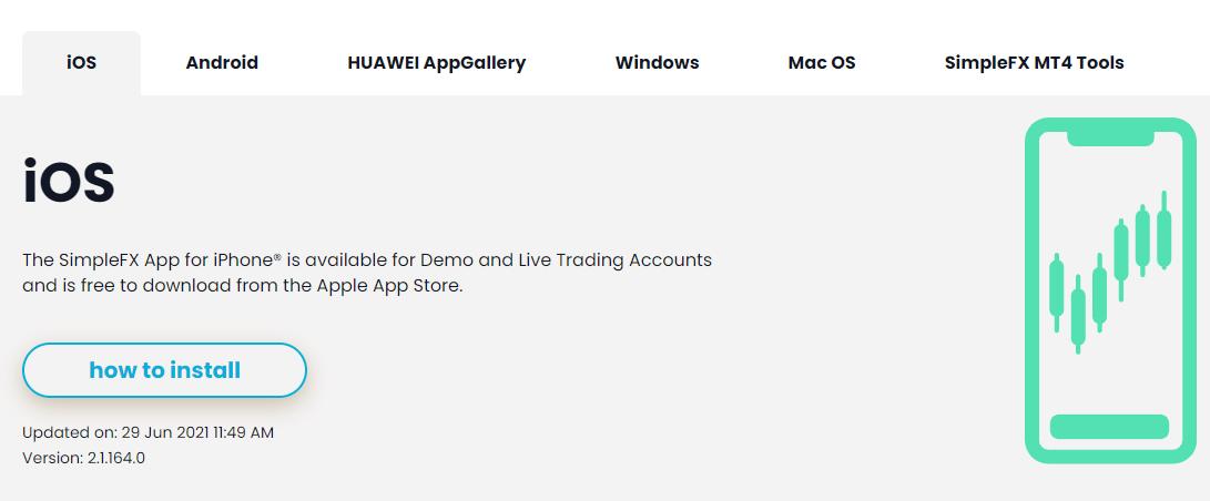 SimpleFX Mobile App
